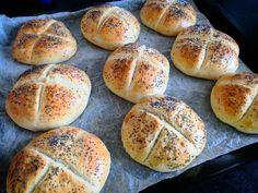 Když je nouze, tak kaiserky jsou jasný volba. Hamburger, Bread, Food, Meal, Brot, Eten, Hamburgers, Breads, Meals