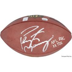 Peyton Manning Denver Broncos Autographed Pro Football with NFL Rec 55 TDS Inscription