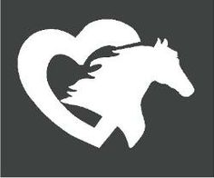 Horse Decals, Horse Stickers & Graphics for horse trailers. I love my Horse Decal for the window.