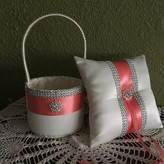 Flor cesta de la muchacha y anillo portador por AllAHeartDesires