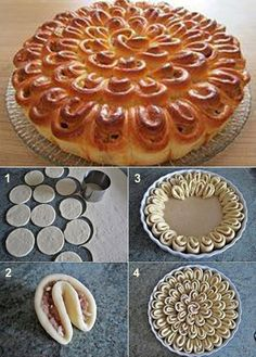 SAVING TIPS - creations, recycling: Cookies Formatting inspiration Puff Pastry Recipes, Food Garnishes, Food Decoration, Food Platters, Creative Food, Food To Make, Food And Drink, Cooking Recipes, Yummy Food