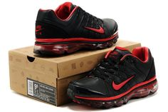 Nike Air Max 2009 Mens Shoes Black Red