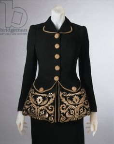 1940 Jacket by E. Schaparelli -embroidery by Lesage - Indianapolis Museum of Arts