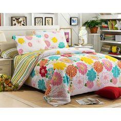 4-piece luxury cotton bedding sets Blossom Season