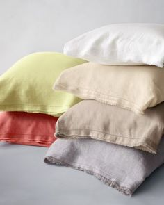 Eileen Fisher Washed Linen Sheets and Bedding - Garnet Hill