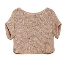 a nice crop sweater.