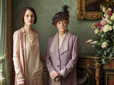 Mary and the Dowager Downton