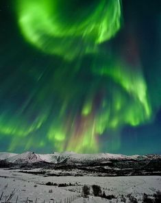 Aurore boréale en Norvège