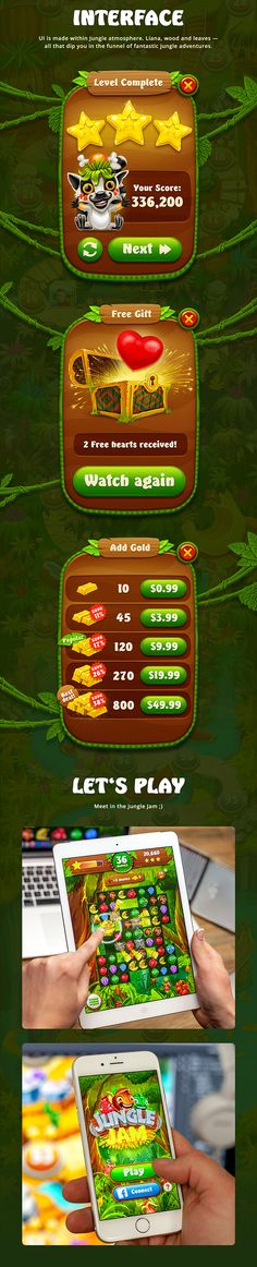 Jungle Jam on App Design Served