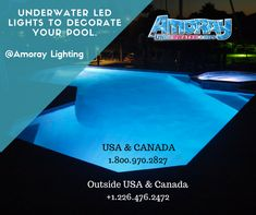 These high-quality Nicheless LED Underwater Lights are Corrosion free,Waterproof & to be used for Pools,Ponds,Lakes,Fountains Inground Pool Lights, Underwater Led Lights, Boat Lights, Ponds, Lakes, Swimming Pools, Decorating, Lighting, Free
