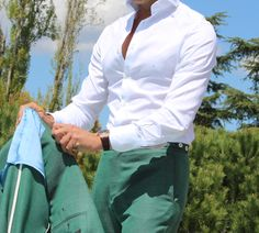 The Summer Green Suit