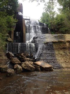 MIssissippi waterfall road-trip