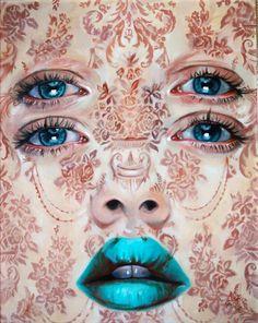 Baroque perception Art Print