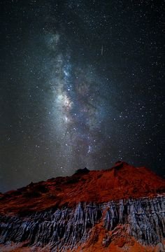 milky way by lim theam hoe on 500px................ thk:::::::::::::::::::::Looks like Rare Red Earth, Perak, Malaysia