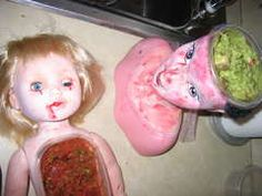 OMG! Super Creepy Serving Platters