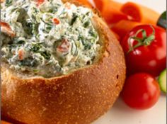Spinach Dip Ingredients -  1 pkg	frozen chopped spinach, thawed and squeezed dry,  16 oz	sour cream (1 whole container),  1 c	hellmann's mayo,  1 pkg	knorr® vegetable recipe mix,  1 can(s)	water chestnuts, drained and chopped (optional),  3	green onions, chopped (optional)