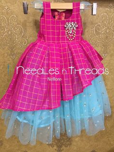 Kids Party Wear Dresses, Kids Dress Wear, Baby Girl Party Dresses, Kids Gown, Little Girl Dresses, Girls Frock Design, Kids Frocks Design, Baby Frocks Designs, Baby Dress Design