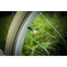 Nakrętki na wentyle Bike Bake Luv, Pink Muffin - Bike Belle - Stylowe akcesoria rowerowe