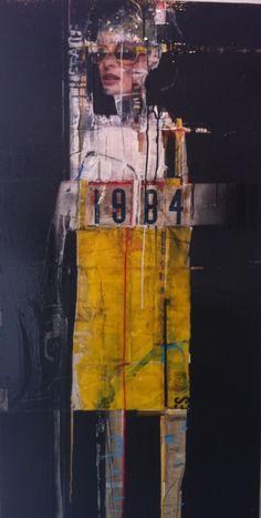RED PROPELLER GALLERY — '1984' BY DAVID V JOHNSON