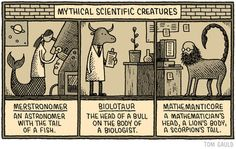 Mythical Scientific Creatures Tom Gauld