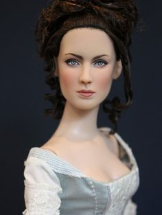 About Claire Randall: Outlander inspired repaint by Sashableu, Gown by StarDust Dolls