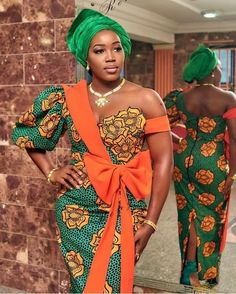 Unique Ankara gowns 2020 are awaiting you! So We have found 34 unique Ankara gowns 2020 perfect for any African events. Ankara Short Gown Styles, Trendy Ankara Styles, Kente Styles, Ankara Gowns, Aso Ebi Styles, Ankara Dress, Ankara Fabric, Ankara Blouse, Dress Styles