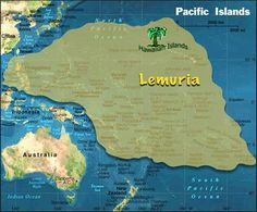 LOST CONTINENT OF LEMURIA