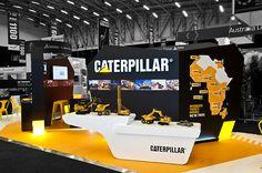 Caterpillar - Mining Indaba 2015 on Behance