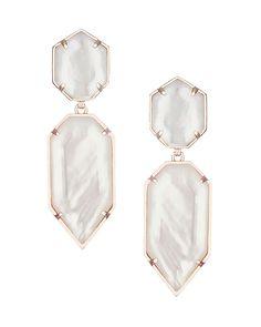 Perla Earrings in Ivory Pearl - Kendra Scott Jewelry.