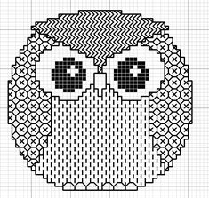 Embroidery Owl - Chart