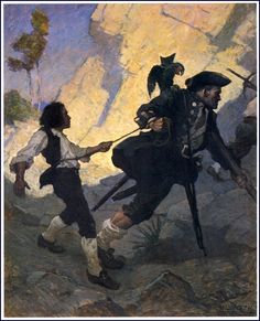 N. C. Wyeth, 1911. For all the world, I was led like a dancing bear.