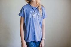 New Blue Youth Logo T-shirt (Large Only)