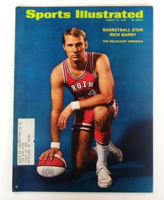 1970 Sports Illustrated  Basketball Star Rick Barry The by BLiPPEE, $5.99