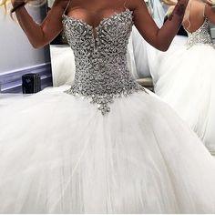 New wedding dresses with bling pnina tornai ball gowns 39 Ideas Pinina Tornai Wedding Dresses, Sexy Wedding Dresses, Princess Wedding Dresses, Tulle Wedding, Bridal Dresses, Wedding Gowns, Couture Dresses, Wedding Dress Bling, Mermaid Wedding