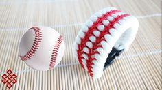 How to Make a Baseball Themed Trilobite Paracord Bracelet Tutorial