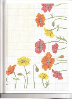 Thrilling Designing Your Own Cross Stitch Embroidery Patterns Ideas. Exhilarating Designing Your Own Cross Stitch Embroidery Patterns Ideas. Cross Stitch Borders, Cross Stitch Flowers, Counted Cross Stitch Patterns, Cross Stitch Designs, Cross Stitching, Cross Stitch Embroidery, Embroidery Patterns, Sewing Patterns, Handbag Tutorial