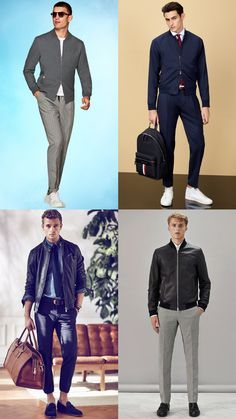 Here's everything you need to know about bomber jackets for men, including its military history, the different bomber styles available today and how to wear a bomber jacket in a number of modern ways Bomber Jacket Men, Military History, Formal Wear, Timeless Fashion, Looks Great, Blazer, Mens Fashion, Beans, How To Wear
