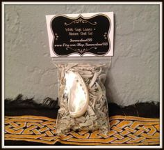 """White Sage Leaves & Mini Abalone Shell Kit ~ Cleansing ~ Purification ~ Smudging ~ Wicca ~ Witch ~ Pagan ~ Native American ~ 3"""" x 4"""" Bag by SummerlandBB on Etsy"""