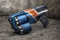 18 Shot Nerf Strongarm #modification #mod #toy