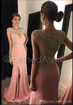 Mermaid Crystals 2016 Arabic Evening Dresses Sheer Neck Satin Prom Dresses Sexy Evening Gowns Vestidos De Noiva Black Evening Dresses Uk Blue Evening Dress From Weddingmall, $96.49| Dhgate.Com
