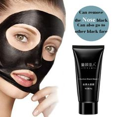 JL46Face Care Suction Black Mask Facial Mask Nose Blackhead Remover Peeling Peel Off Black Head Acne Treatments TF