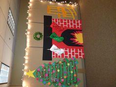49 best Office Christmas images on Pinte Christmas Classroom Door, Preschool Christmas, Christmas Activities, Christmas Crafts For Kids, Christmas Themes, Kids Christmas, Holiday Crafts, Christmas Images, Christmas Bulletin Boards