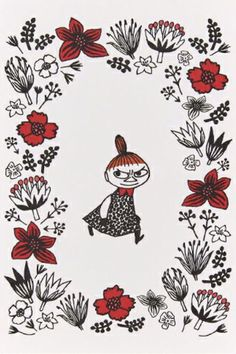 Little My Moomin, Moomin Wallpaper, Moomin Valley, Tove Jansson, Troll, Cute Art, My Drawings, Quilt Patterns, Fantasy Art
