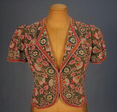 Bolero  Elsa Schiaparelli, 1930s  Whitaker Auctions