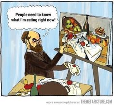 What they did before Instagram....funny! :)