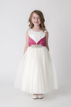 41 best flower girl dresses white ivory images on pinterest pink diamante flower girl bridesmaid dress available in other colours please see our website white flower girl dressesflower mightylinksfo