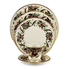 christmas dinnerware sets - Christmas China Sets