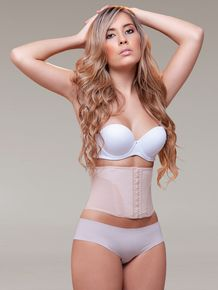NEW!! Vedette 902 Waist Cincher for Shorter Torsos. Great cincher with 9 steel bones for support and shaping. $44.00
