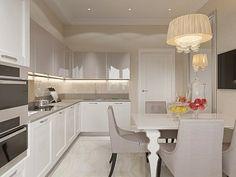 Дизайн интерьера двухкомнатной квартиры в стиле Неоклассика в ЖК «Академ-Парк», 84 кв.м. + Видео
