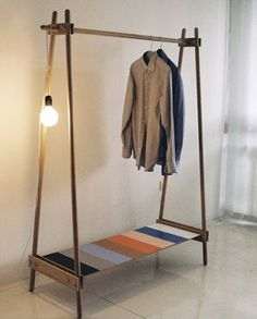 Closet De Madera Furniture Design Diy Plans Clothes Rack